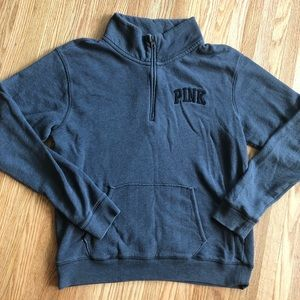 VS PINK Quarter Zip Sweatshirt